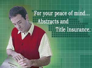 Abstracts and Title Insurance
